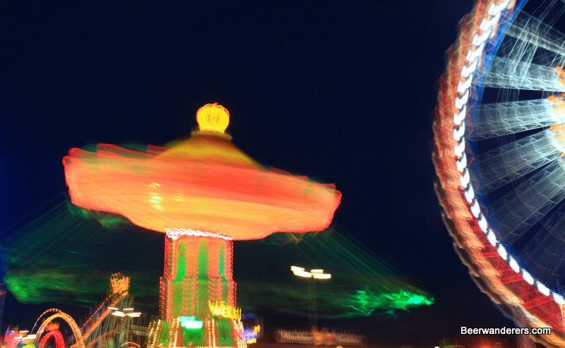 oktoberfest at night