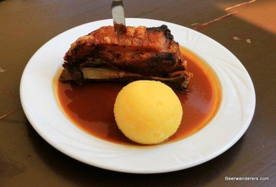 pork shoulder with dumpling