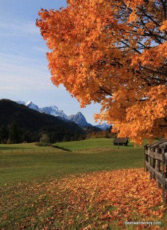 Karwendel in autumn