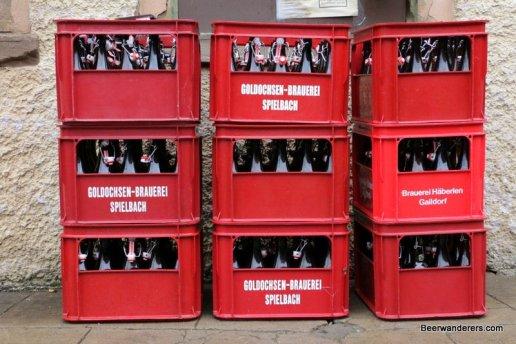 cases of beer