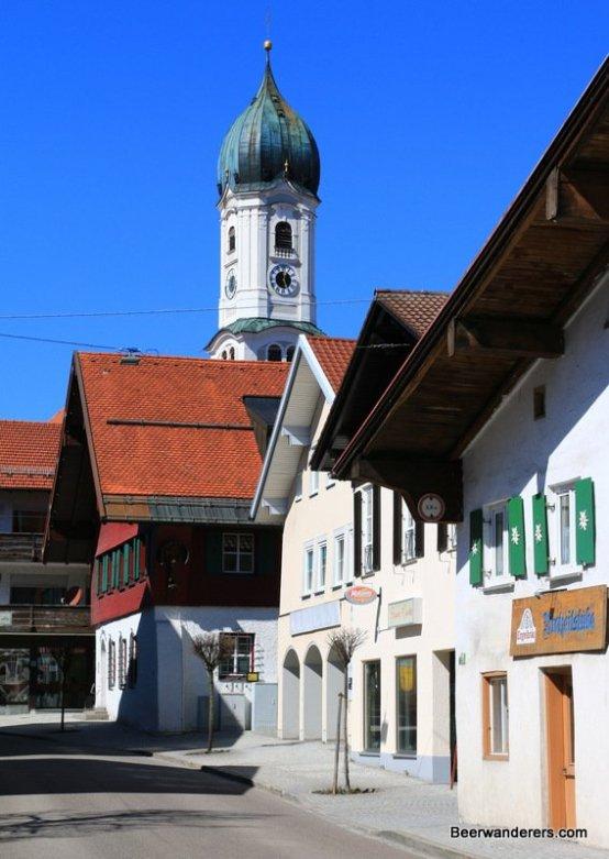 the Nesselwang Church