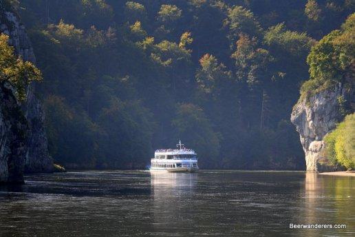 boat in gorge