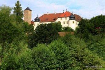 hilltop castle