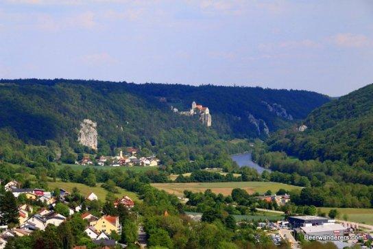 castle in distance