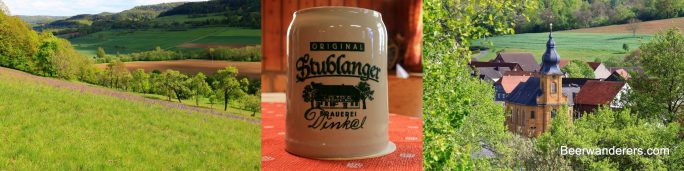 wildflowers beer mug church
