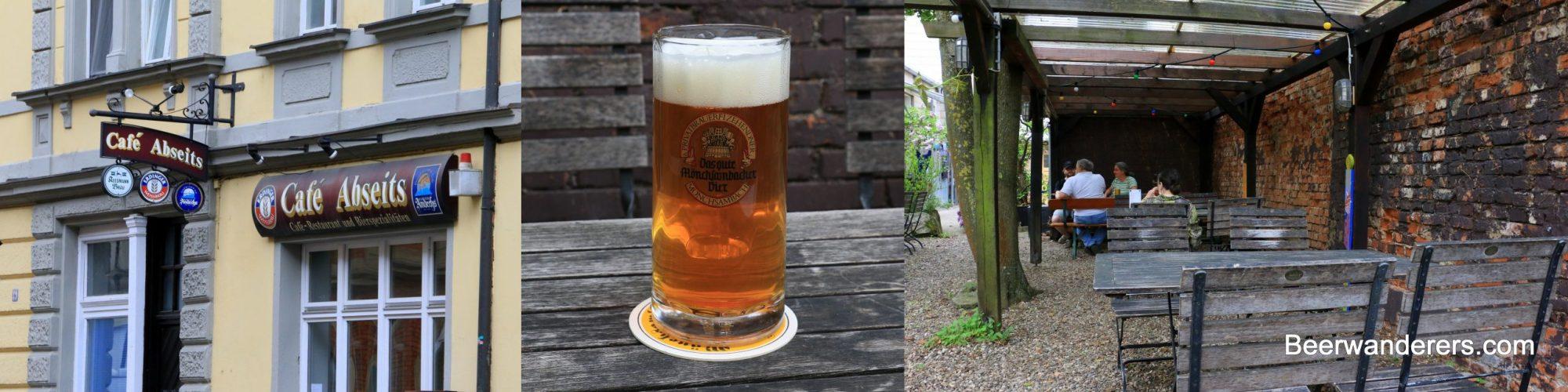pub front beer biergarte