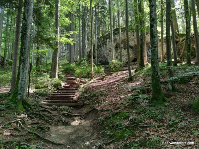 staired trail