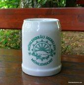 ceramic mug with fish logo