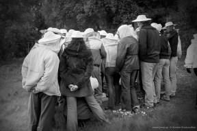ΙΓΕ - 2003. Ανάμεσα στου μελισσοκόμους η Ελισάβετ που εξαιτίας της έμαθα σωστά κι όχι μόνο εμπειρικά τις μέλισσες