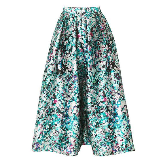 LK Bennett, Susan Floral Print Full Skirt