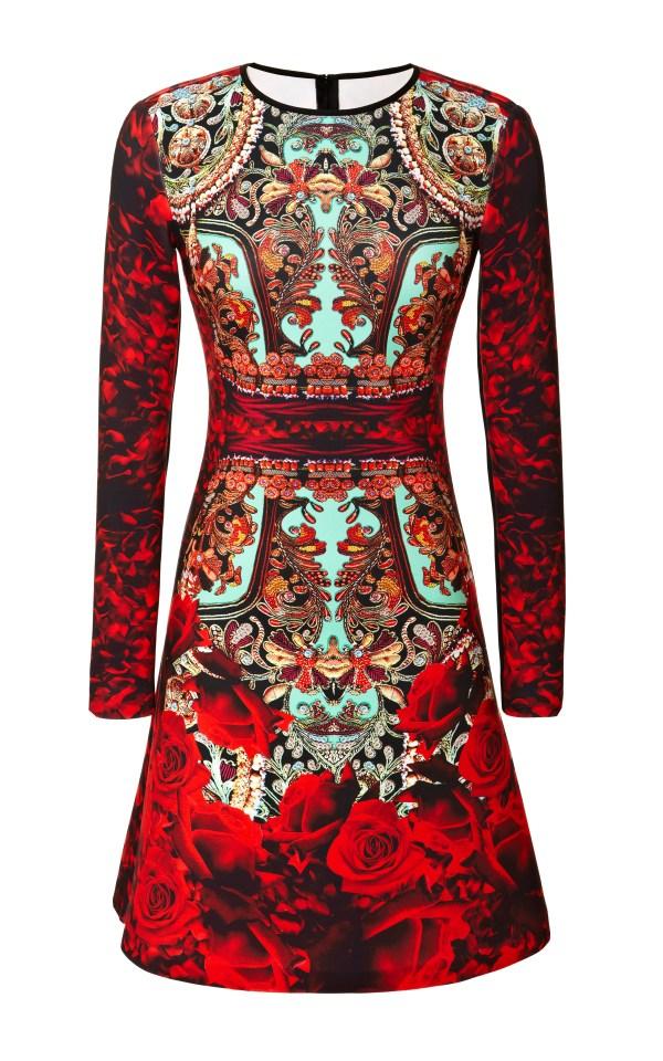 Selfridges, Clover Canyon Rose Matador Neoprene Dress