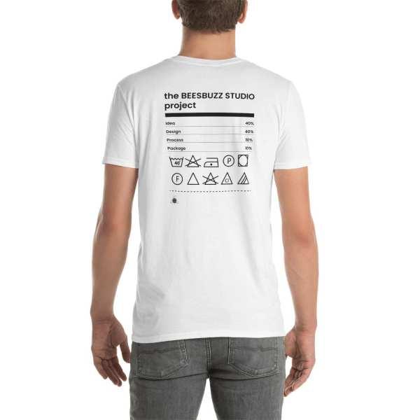 "Men's t shirt ""label"" high quality"
