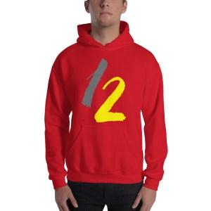 unisex heavy blend hoodie red front 6148c0af0739f