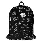 """All over printed backpack 2 """"Cyprus places"""" high quality"""