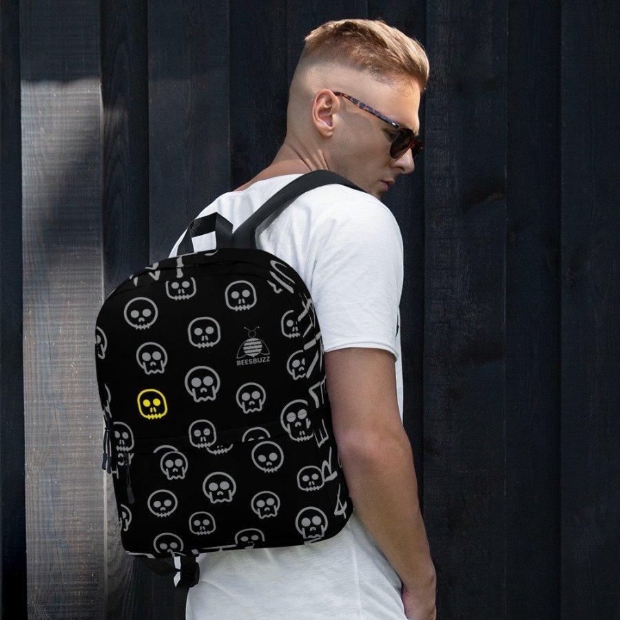 Skull backpack high quality