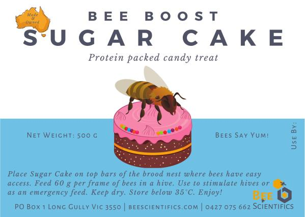 Boost Sugar Cake