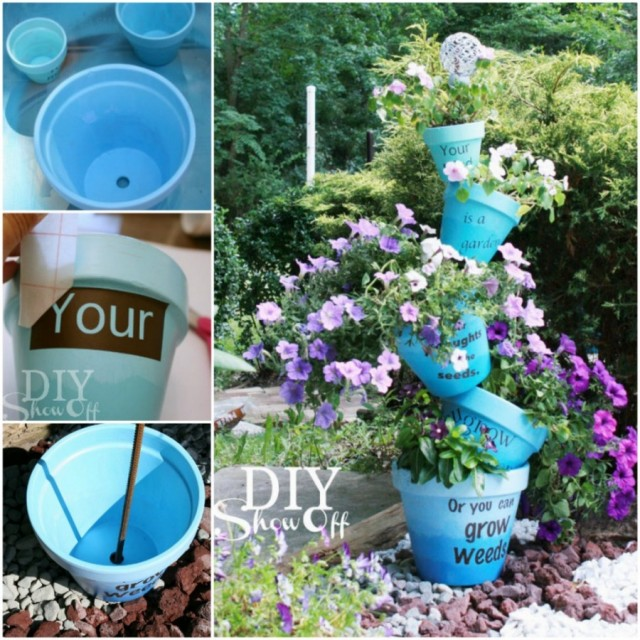 20+ Amazing Clay Pot DIY Projects for Your Garden3