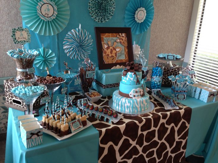 Ideas For Cheap Boy Baby Shower