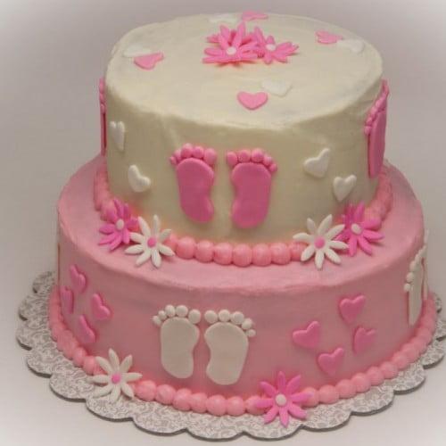 Baby Shower Cakes Ideas For Girls