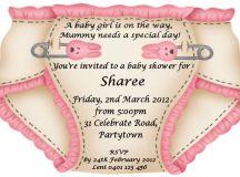 Baby Shower Invitation Wording Ideas | FREE Printable Baby ...
