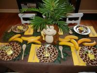 Monkey Baby Shower Decorations Ideas  FREE Printable Baby