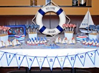 Sailboat Nautical Themed Baby Shower Ideas | FREE ...