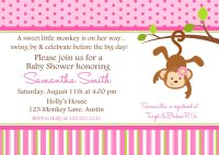 Monkey Baby Shower Invitation Ideas | FREE Printable Baby ...