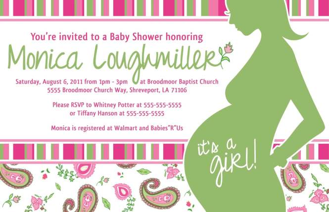 Handmade Baby Shower Invitation Ideas