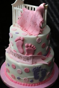 Make A Baby Shower Cakes For Girls