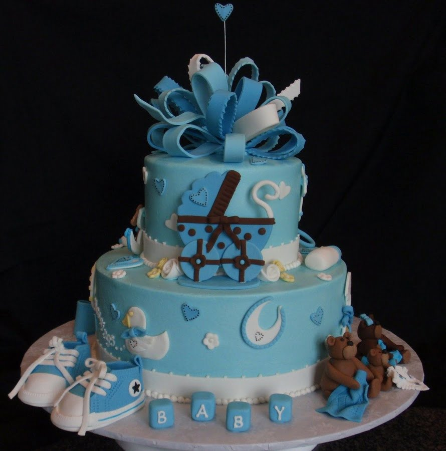 Cake Ideas For Boy Baby Shower