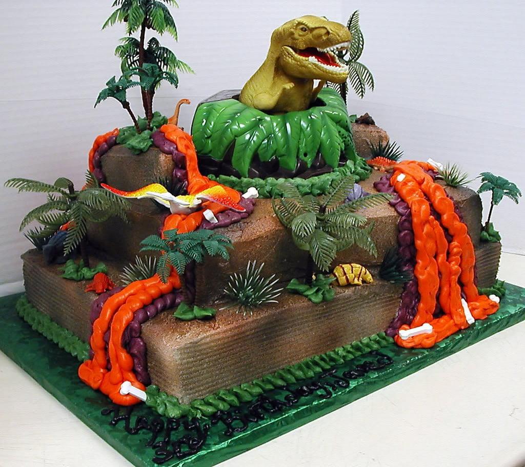 Free Dinosaur Cake Template