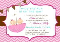 Choose The Best Twin Baby Shower Invitation Ideas | FREE ...