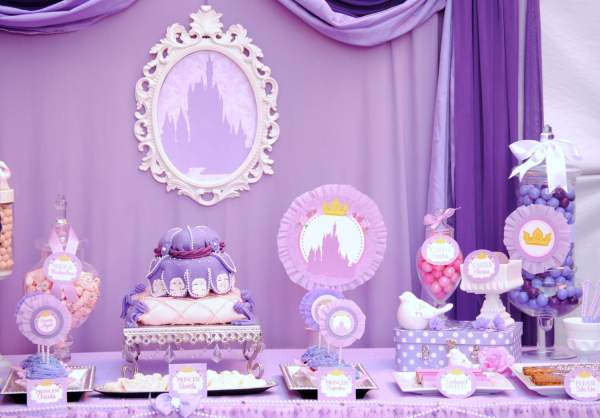 Cute Baby Shower Themes Girls Table Decorating Ideas