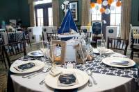Nautical Themed Baby Shower Table Decoration Ideas | Baby ...