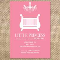 Baby Girl Shower Invitations Wording