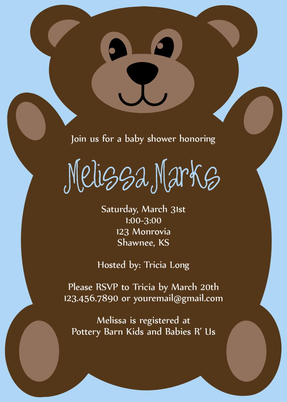 Free Baby Shower Invitations Maker