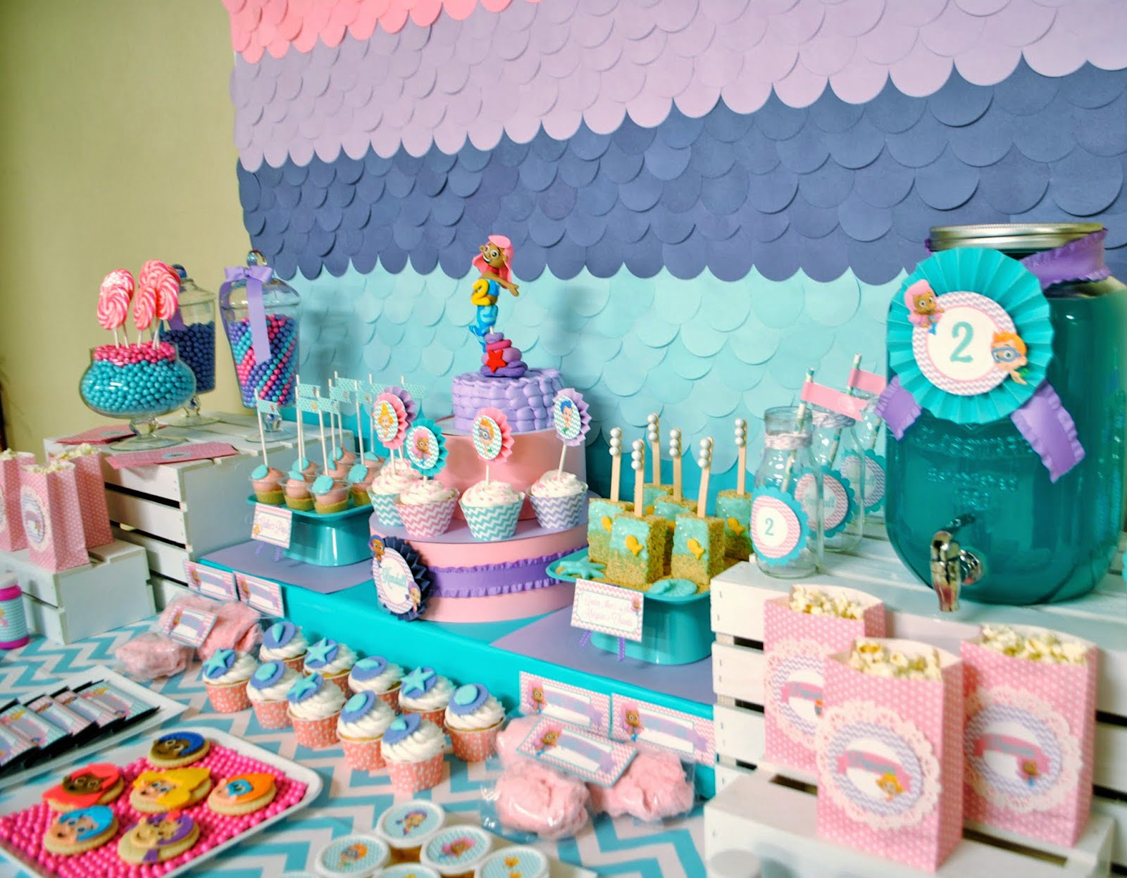 Bubble Themed Baby Shower