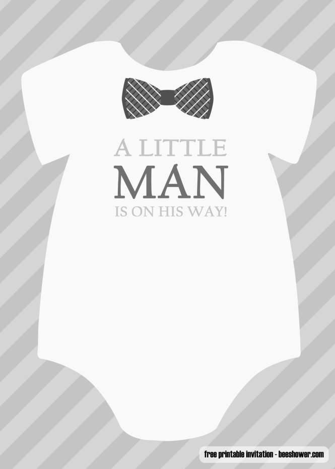Free Boy Baby Shower Invitations Templates Printable
