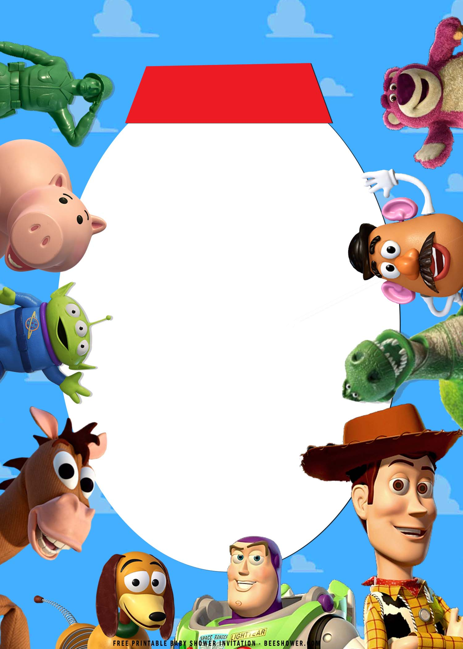 toy story birthday invitation templates