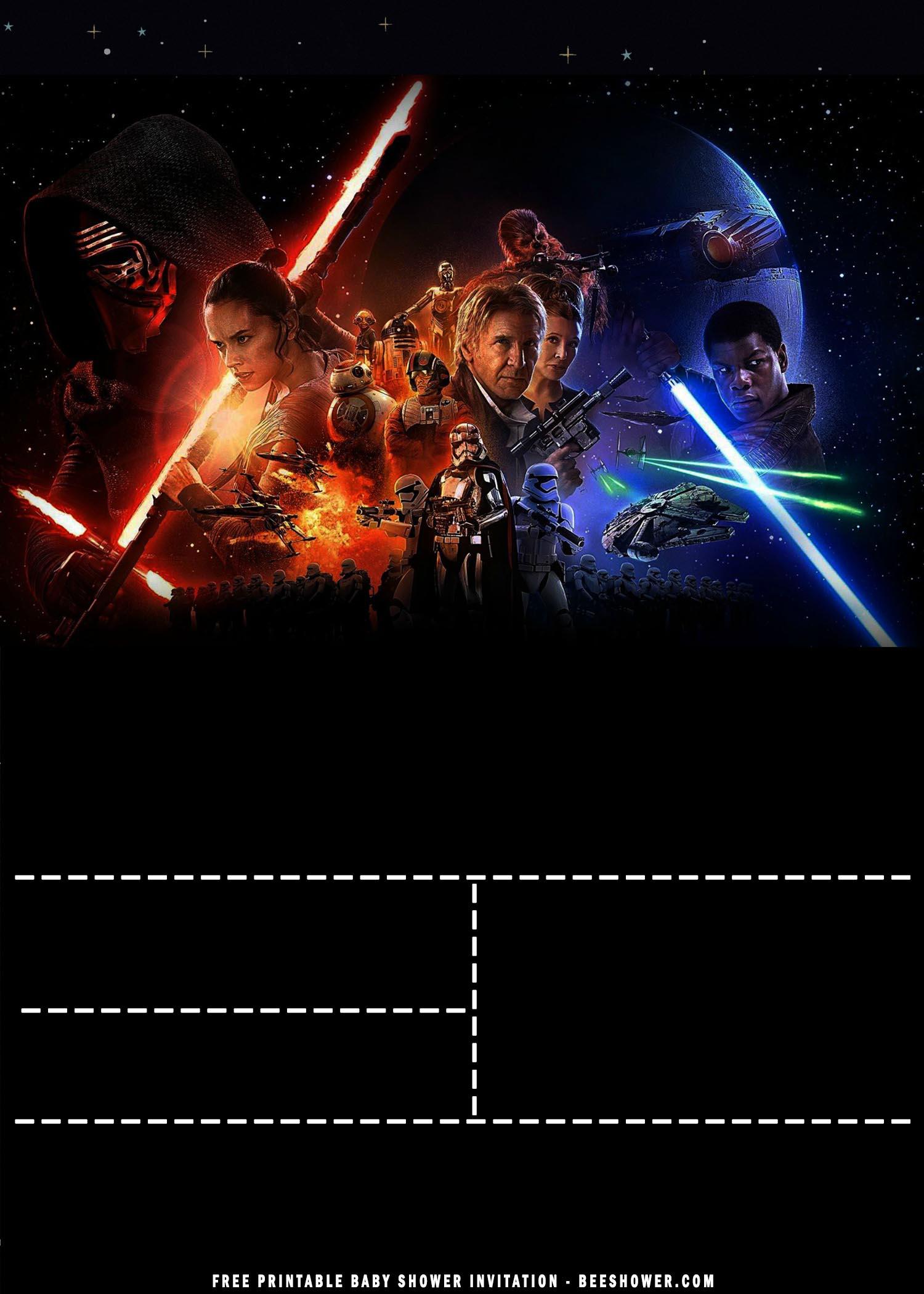 free printable star wars baby shower