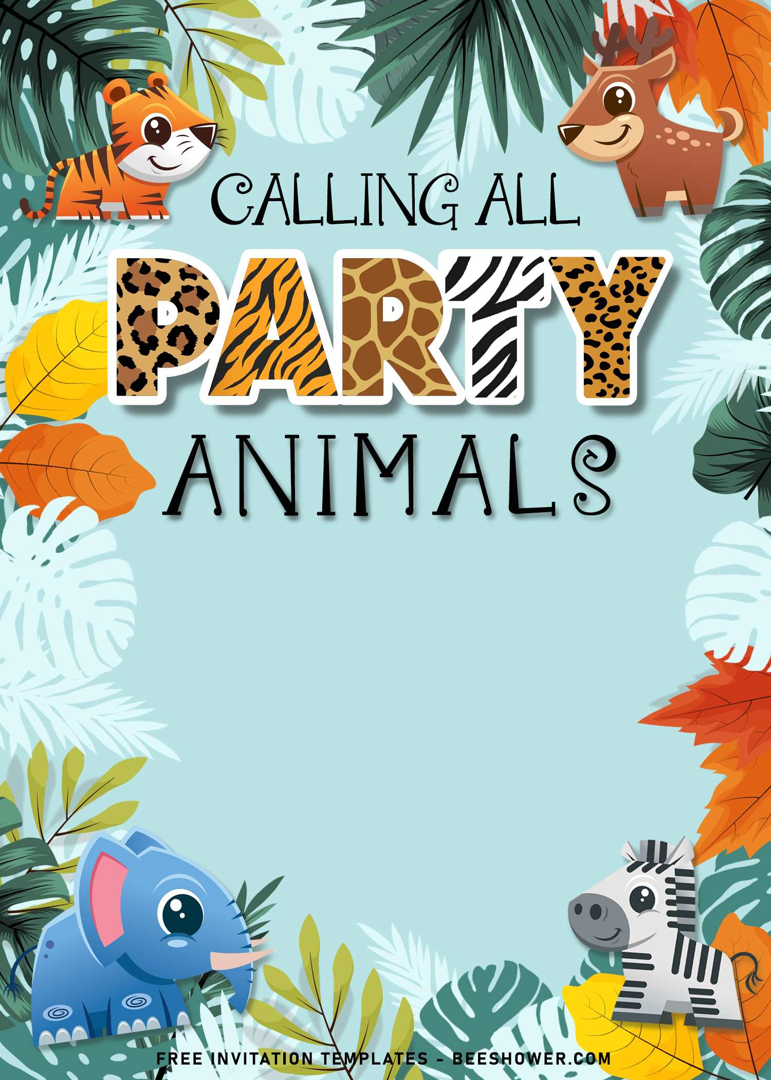 10 fun calling all party animals baby