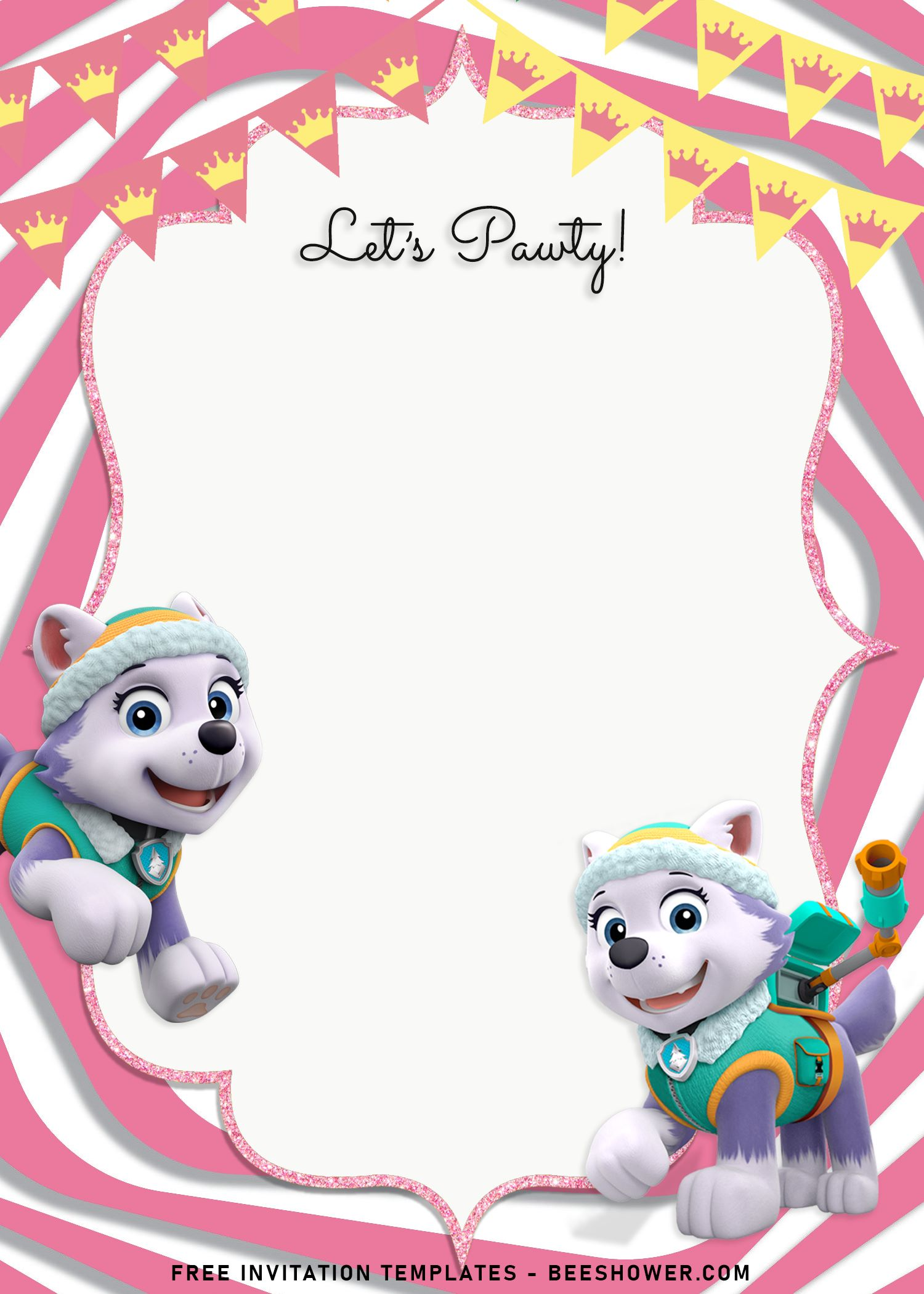 8 adorable skye and everest paw patrol
