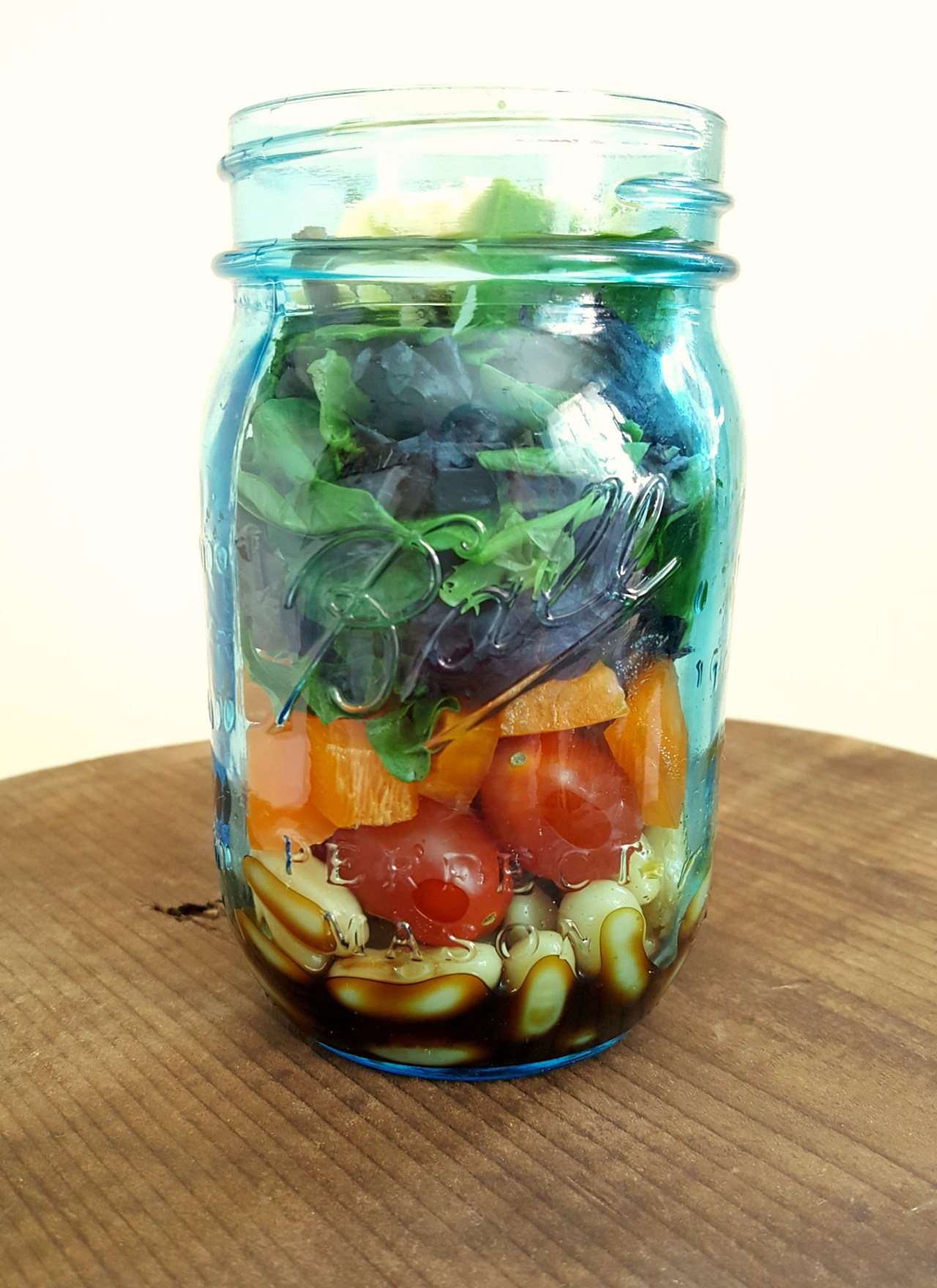 Healthy Summer Salad – On the Go Lunch!