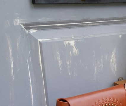 dry brush gray paint