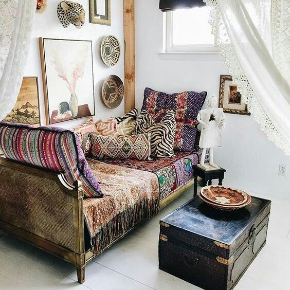 One Room Challenge Week 2 Vintage Chic Eclectic Retreat