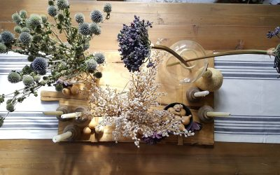 Using Faux Flowers in Your Fall and Winter Decor