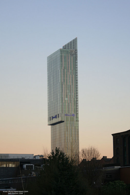 Photos of the Beetham Tower in Manchester