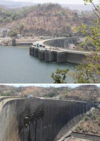 Kariba Dam Wall, which created Lake Kariba