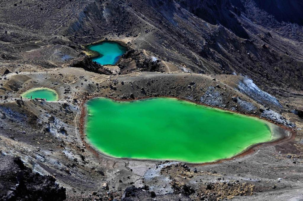 Emerald Lakes - Mount Tongariro, North Island, New Zealand