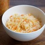 homemade-lacto-fermented-sauerkraut